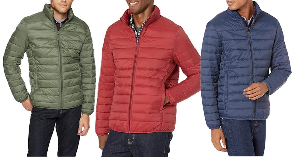 The puffer comes in eight different colours. (Amazon)