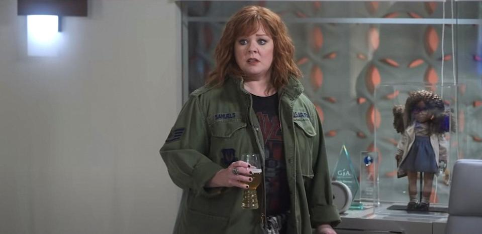 THUNDER FORCE, Melissa McCarthy, 2021.  Netflix /Courtesy Everett Collection
