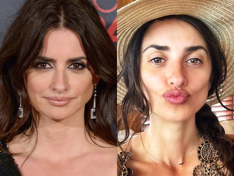 penelope cruz no makeup
