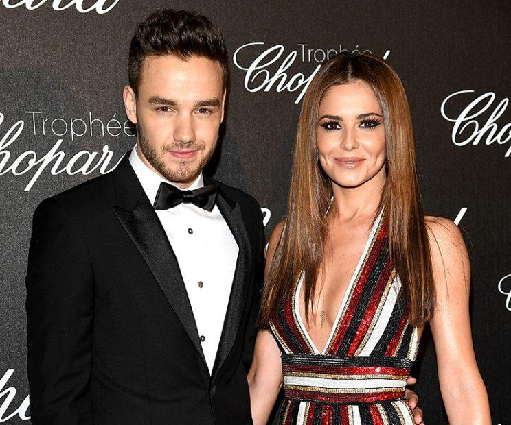 Liam Payne refers to Cheryl Cole as his 'wife.'