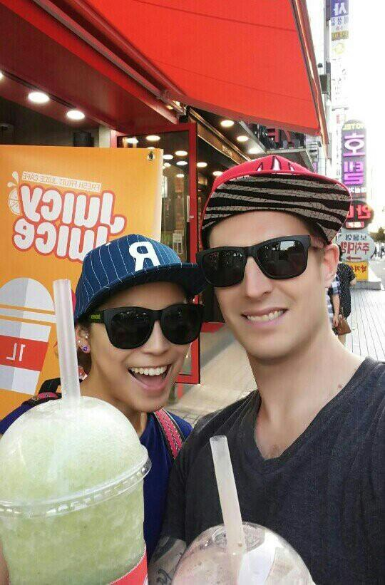 Manitoba native Riley Maw and his Korean wife, Hajung Lee, just bought a $300,000 penthouse apartment in the outskirts of Seoul. Maw moved to Seoul in 2005 to each English. Supplied photo.