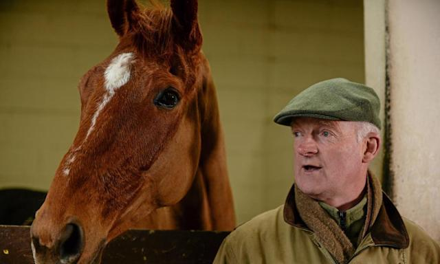 "<span class=""element-image__caption"">Leading Irish trainer Willie Mullins pictured at his stables in Co Carlow.</span> <span class=""element-image__credit"">Photograph: Sportsfile/Corbis via Getty Images</span>"