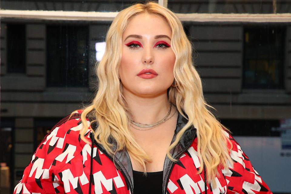 NEW YORK, NEW YORK - JULY 08: Hayley Hasselhoff attends the GYM Capsule Collection at Marina Rinaldi Boutique on July 08, 2019 in New York City. (Photo by Astrid Stawiarz/Getty Images for Max Mara)