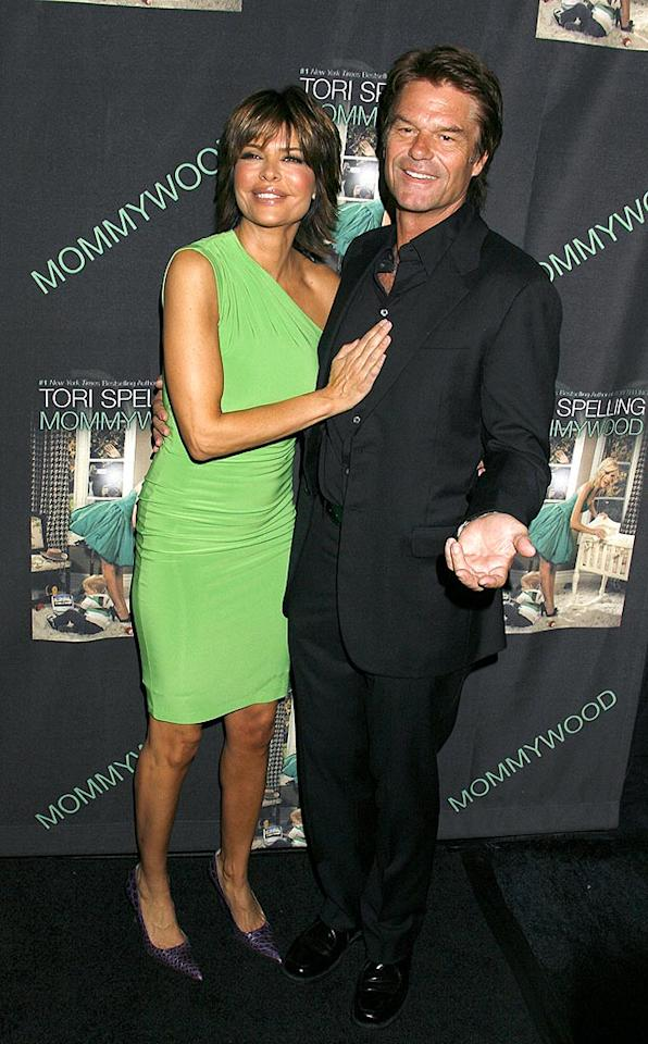 "Lisa Rinna and Harry Hamlin looked surprisingly sophisticated. Wonder how Harry feels about his classic ""Clash of the Titans"" being remade? Jeffrey Mayer/<a href=""http://www.wireimage.com"" target=""new"">WireImage.com</a> - April 13, 2009"