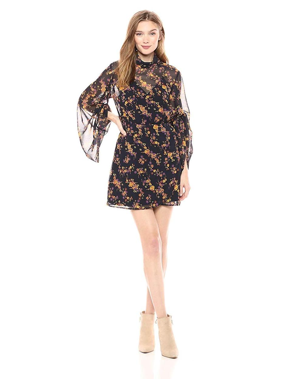 <p>This <span>C/Meo Collective Heartbreaker Floral Mini Dress</span> ($120) is beyond cute.</p>