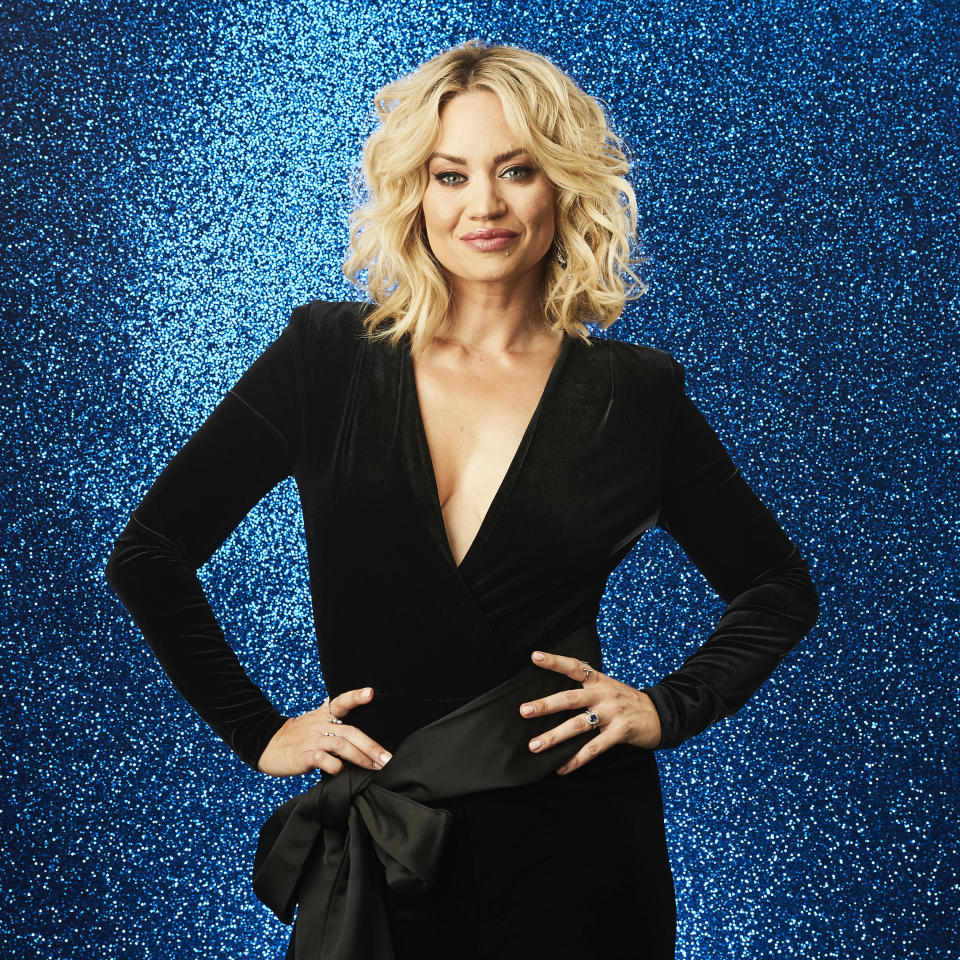 From Lifted EntertainmentDancing on Ice: SR14 on ITV and ITV HubPictured: Kimberly Wyatt.This photograph is (C) ITV Plc and can only be reproduced for editorial purposes directly in connection with the programme or event mentioned above, or ITV plc. Once made available by ITV plc Picture Desk, this photograph can be reproduced once only up until the transmission [TX] date and no reproduction fee will be charged. Any subsequent usage may incur a fee. This photograph must not be manipulated [excluding basic cropping] in a manner which alters the visual appearance of the person photographed deemed detrimental or inappropriate by ITV plc Picture Desk.  This photograph must not be syndicated to any other company, publication or website, or permanently archived, without the express written permission of ITV Picture Desk. Full Terms and conditions are available on the website www.itv.com/presscentre/itvpictures/termsFor further information please contact:james.hilder@itv.com / 0207 157 3052