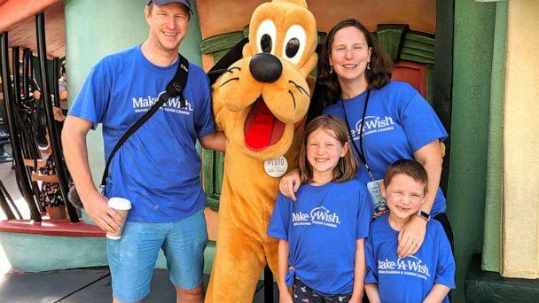 PHOTO: Six-year-old cancer survivor Linden Bradley went to Disneyland with his family on Friday, September 20, thanks to Make-A-Wish. (Courtesy Bradley family )