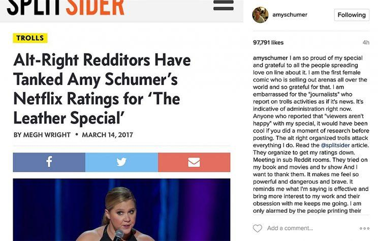 Amy Schumer, Stand up