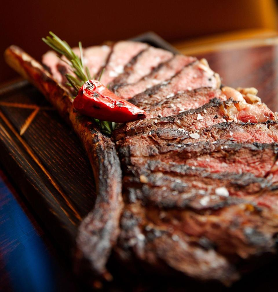 "<p>Sure, having savings to fall back on is nice, but again, have you ever tried A5 wagyu? The 16 ounces of melt-in-your-mouth bliss at <a href=""https://www.tripadvisor.com/Restaurant_Review-g33388-d1979226-Reviews-EDGE_Restaurant_Bar_at_Four_Seasons_Hotel_Denver-Denver_Colorado.html"" rel=""nofollow noopener"" target=""_blank"" data-ylk=""slk:Edge Restaurant & Bar"" class=""link rapid-noclick-resp"">Edge Restaurant & Bar</a> at the Four Seasons in Denver will have you considering factoring this splurge into your monthly budget.</p>"