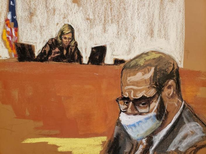 R.Kelly's trial continues in New York