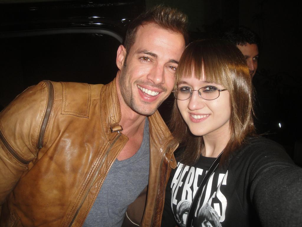 """""""William Levy and me. Such a cool guy! Check him out on Dancing With The Stars this season!"""""""