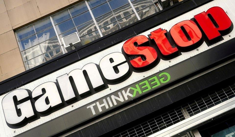 A GameStop storefront in New York City. The intense trading of the failing company's shares in January showed the power of concerted retail investor action. Photo: Reuters