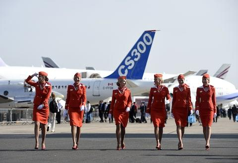 Aeroflot: powerful - Credit: GETTY