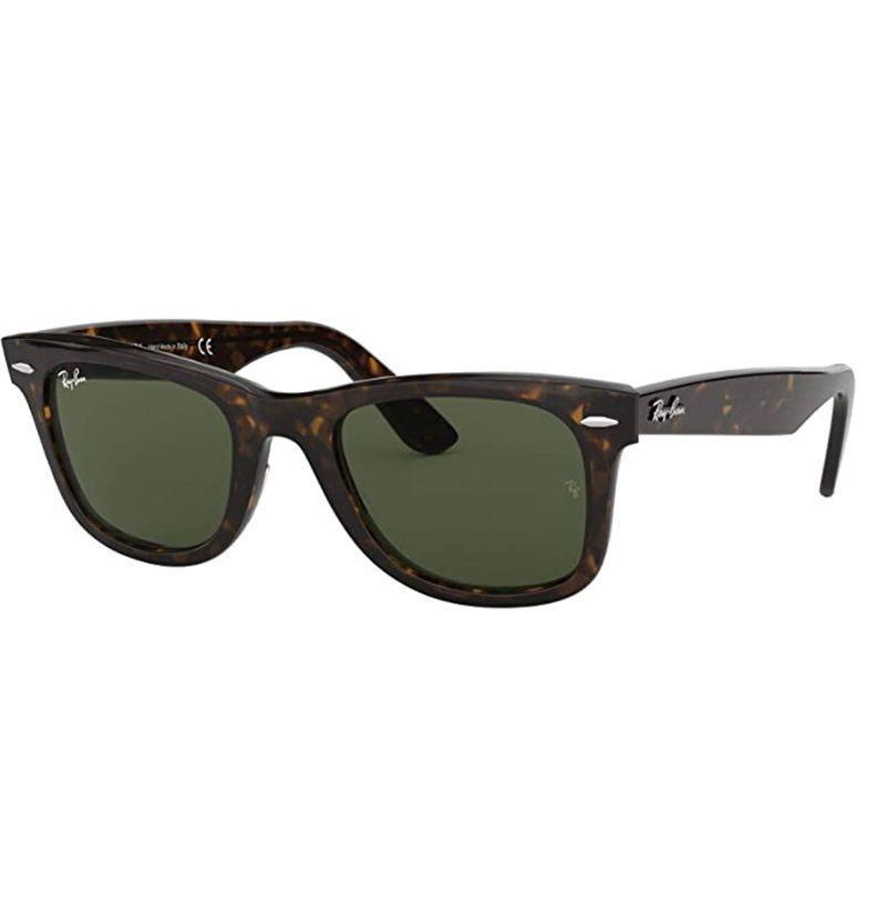 """<p><strong>Ray-Ban</strong></p><p>amazon.com</p><p><strong>$107.70</strong></p><p><a href=""""https://www.amazon.com/dp/B004SOA3ZG?tag=syn-yahoo-20&ascsubtag=%5Bartid%7C10054.g.32958300%5Bsrc%7Cyahoo-us"""" rel=""""nofollow noopener"""" target=""""_blank"""" data-ylk=""""slk:Buy"""" class=""""link rapid-noclick-resp"""">Buy</a></p><p>The sunglasses <em>Risky Business </em>made iconic. </p>"""