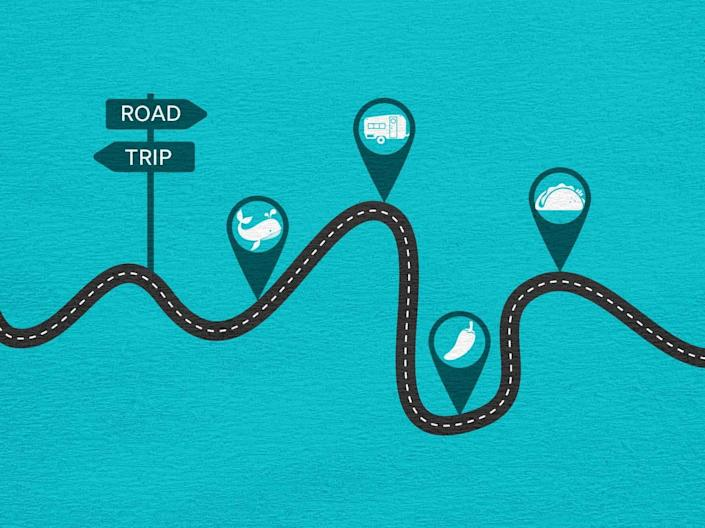 Plan a themed road trip for your next adventure.
