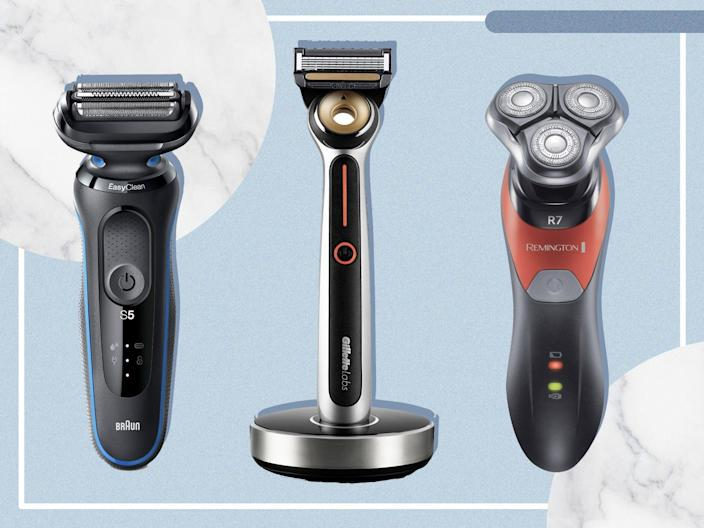 <p>For a quick, professional shave at home we put rotary and foil shavers to the test</p> (The Independent/iStock)