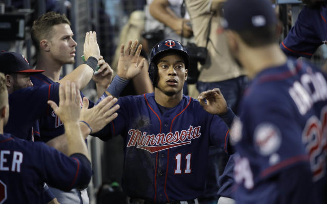 Jorge Polanco was suspended 80 games after a positive test for performance-enhancing drugs. (AP Photo)