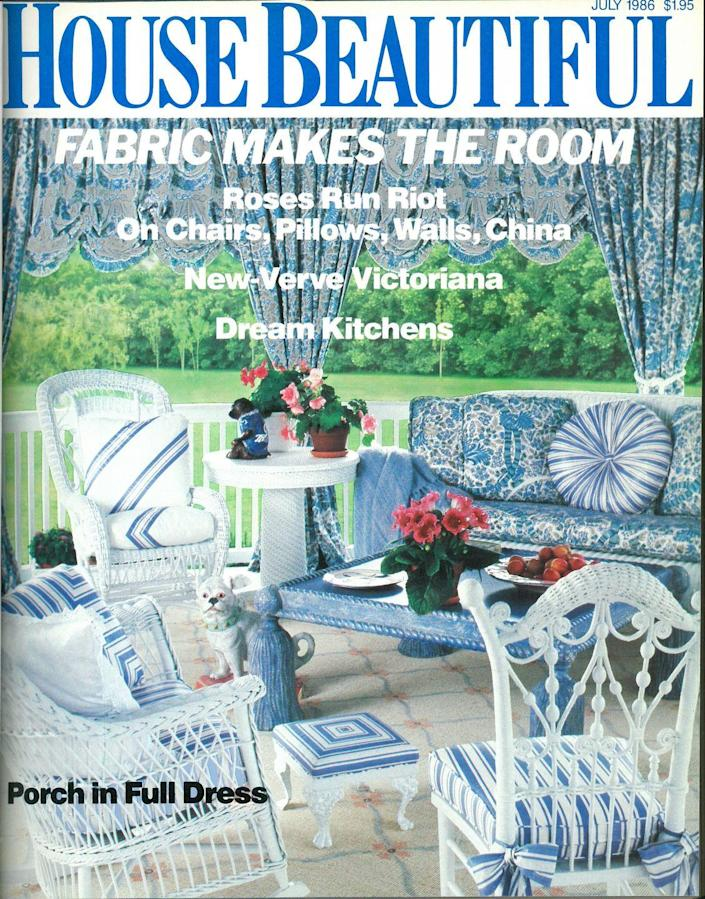 <p>Born in 1986? Apparently that's when roses ran riot in design. One thing that hasn't changed, though, is fabric and texture still play a huge part in the process.</p>