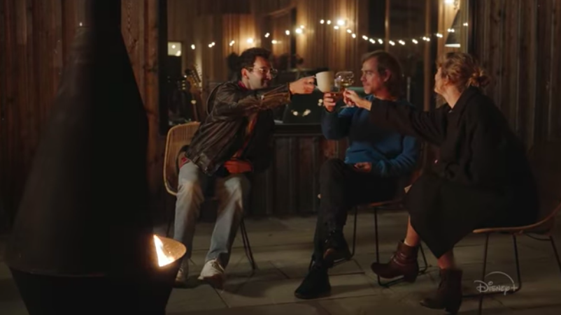 Swift collaborated with Aaron Dessner (The National) and Jack Antonoff (Bleachers) on the 'Folklore' album.
