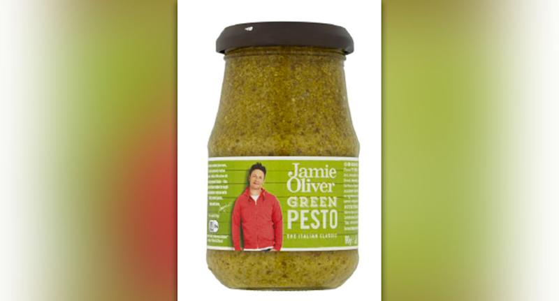 The Jamie Oliver pesto is subject to the recall. Source: ACCC