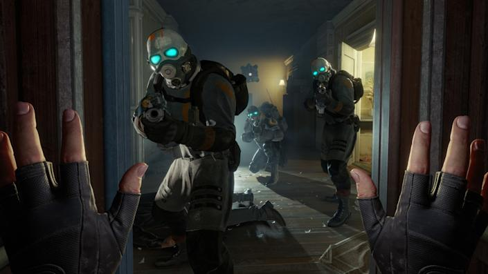 """Dystopia in virtual reality? Yes, please. Multiple developers are singing the praises of the much-hyped VR game """"Half-Life Alix."""""""
