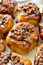 """<p>These buttery pecans, soaked in a sweet caramel sauce and topped with crunchy pecans, are irresistible.</p><p><strong>Get the recipe at <a href=""""http://wholeandheavenlyoven.com/2016/02/26/best-ever-overnight-pecan-sticky-buns/"""" rel=""""nofollow noopener"""" target=""""_blank"""" data-ylk=""""slk:Whole and Heavenly Oven"""" class=""""link rapid-noclick-resp"""">Whole and Heavenly Oven</a>.</strong> </p>"""