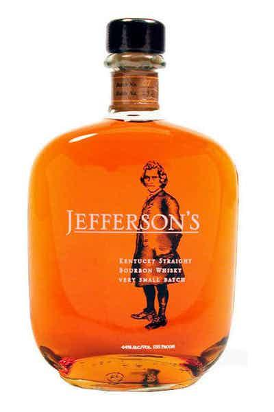 """<p><strong>Jefferson's</strong></p><p>drizly.com</p><p><strong>$19.99</strong></p><p><a href=""""https://go.redirectingat.com?id=74968X1596630&url=https%3A%2F%2Fdrizly.com%2Fliquor%2Fwhiskey%2Fbourbon%2Fjeffersons-very-small-batch-bourbon%2Fp50698&sref=http%3A%2F%2Fwww.cosmopolitan.com%2Ffood-cocktails%2Fg29021453%2Fbest-bourbon-brands%2F"""" target=""""_blank"""">Shop Now</a></p><p>As the name implies, this bourbon is made in super small batches to guarantee quality, and *chef's kiss* it lives up to that promise. The blend is a combo of four different Kentucky bourbon whiskies which create a spicy, yet sweet and caramel-y flavor. So. Good.</p>"""