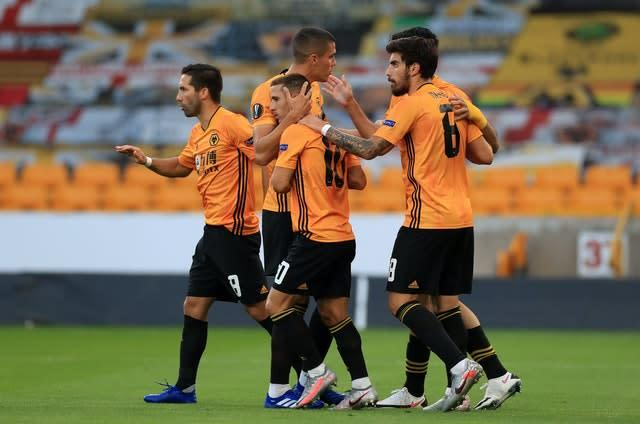 Wolves are looking to extend an already gruelling season (Mike Egerton/PA)
