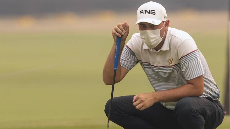 New Zealander Ryan Chisnall, an asthmatic, found conditions tough during the Australian Open