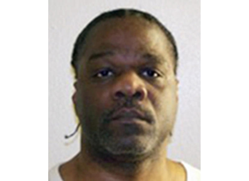 This undated photo provided by the Arkansas Department of Correction shows death-row inmate Ledell Lee. A ruling from the state Supreme Court allowing officials to use a lethal injection drug that a supplier says was misleadingly obtained cleared the way for Arkansas to execute Ledell Lee on Thursday, April 20, 2017, although he still had pending requests for reprieve. (Arkansas Department of Correction via AP)