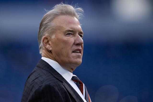 Denver Broncos general manager John Elway hasn't had a great track record at QB in recent years. (Photo by Zach Bolinger/Icon Sportswire via Getty Images)