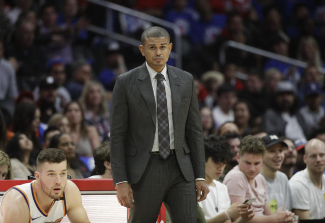 Phoenix Suns head coach Earl Watson was reportedly fired only three games into the season. (AP Photo)