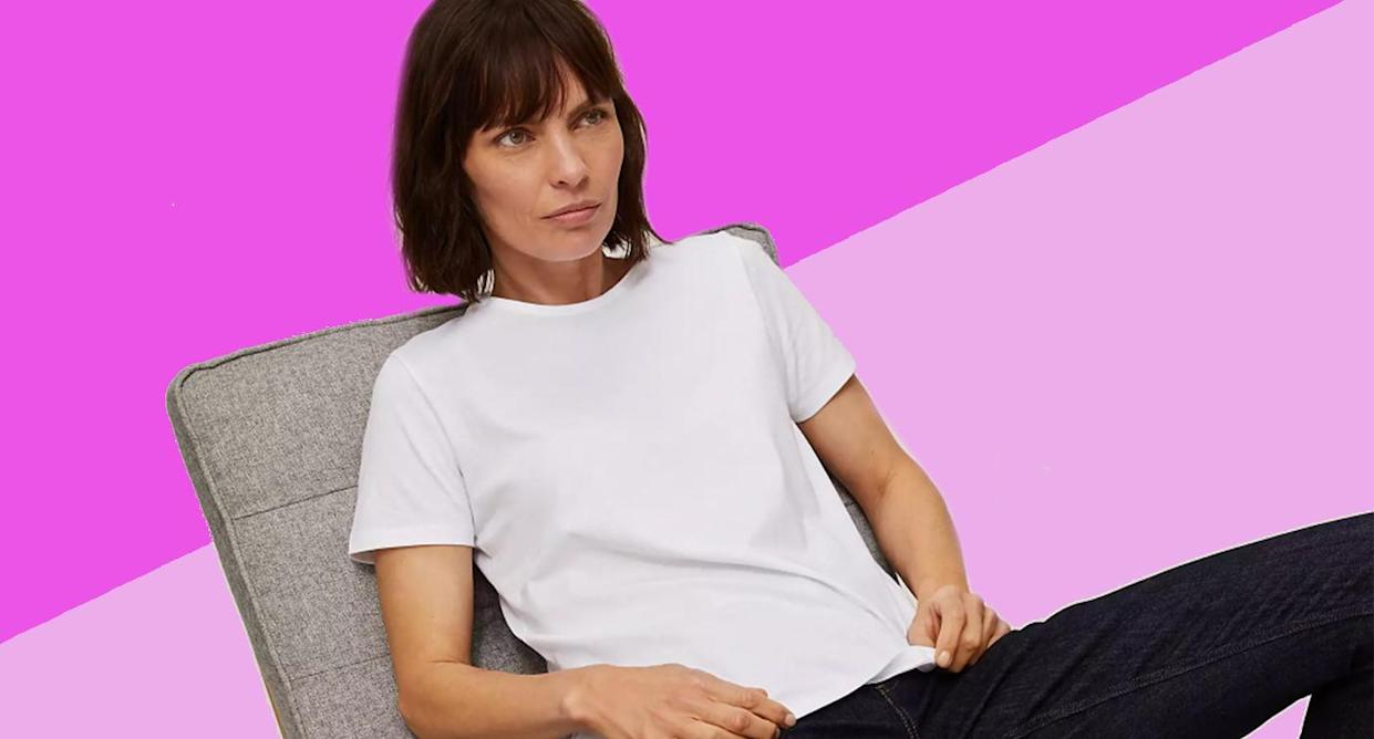 In need of a new white tee? We've found it. (John Lewis & Partners)