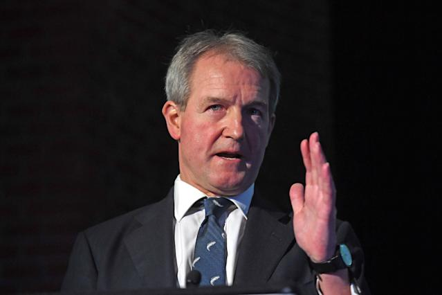 Owen Paterson said the death of his wife came a 'terrible shock'. (Getty)