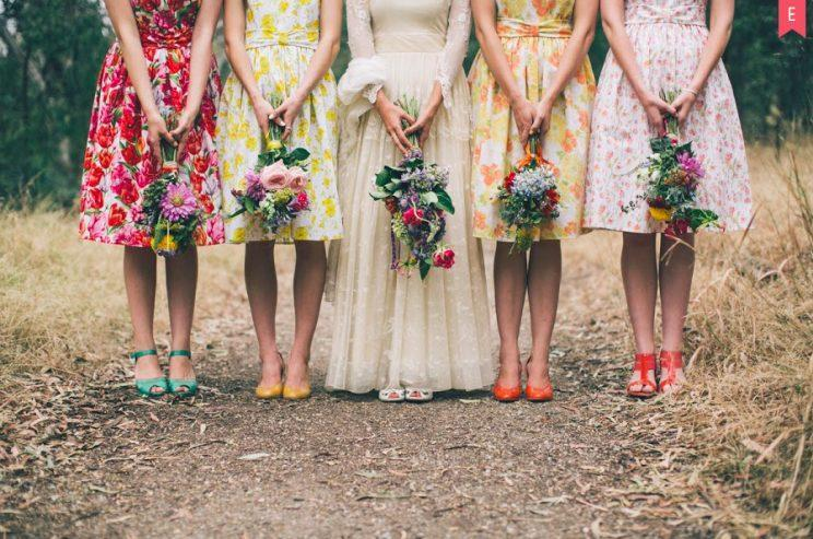 """<i>One bridesmaid was asked to """"pitch in"""" to her friend's extortionate wedding dress cost [Photo: Getty]</i>"""