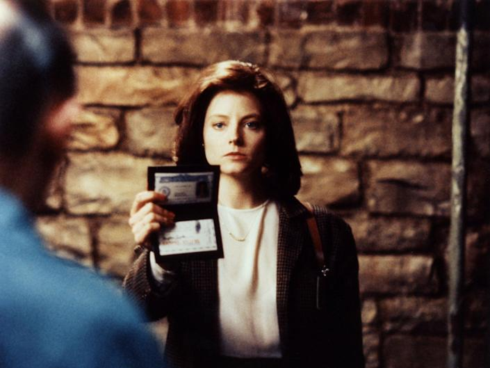 Jodie Foster in The Silence of the Lambs (Orion/Kobal/Shutterstock)