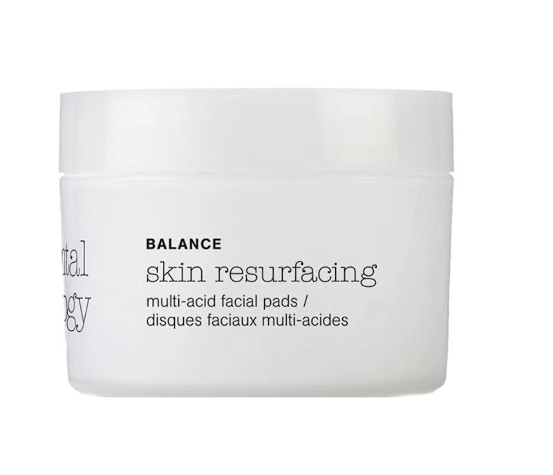 """Those with sensitive skin and pigmentation from sun damage or breakouts would benefit from a chemical exfoliant (Elemental Herbology Multi-Acid Resurfacing Pads)."" &mdash; <strong>Mustapich at </strong><strong><i>Facehaus</i></strong>. Find it for $30 at <a href=""https://fave.co/3gtzpYC"" target=""_blank"" rel=""noopener noreferrer"">Elemental Herbology</a>."