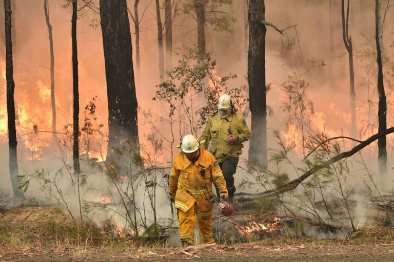 Backburning has been used to try to limit the amount of fuel available to out-of-control blazes