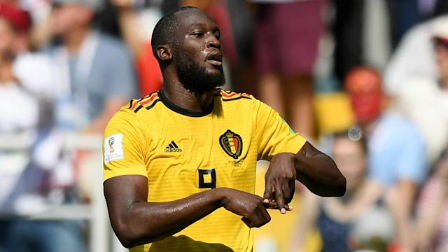 The Manchester United striker scored twice against Tunisia to become the first Belgian to score four goals at a World Cup