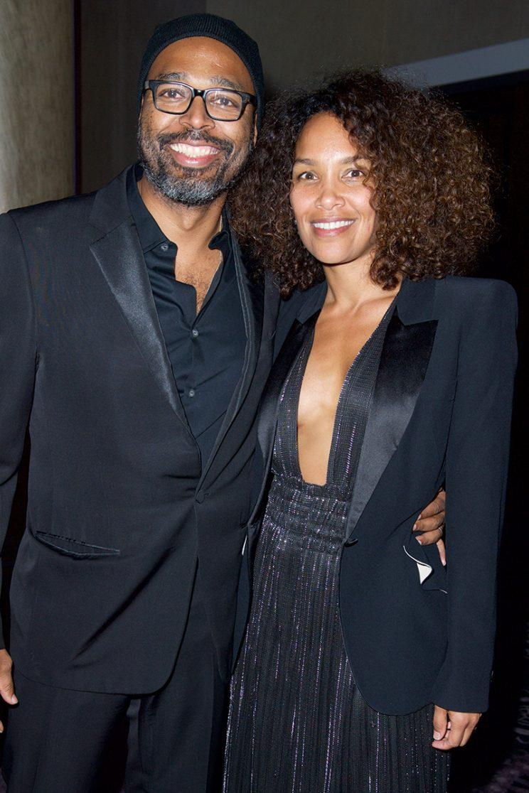 Salim Akil and Mara Brock Akil (Photo by Earl Gibson III/Getty Images)