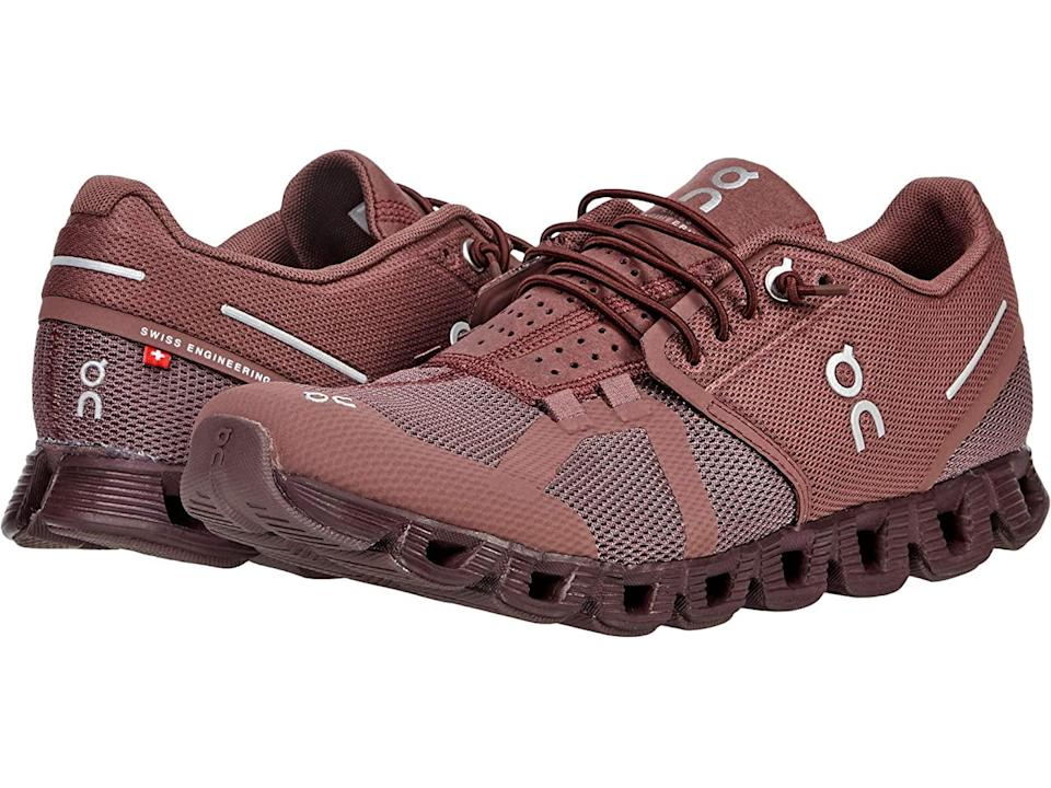 """<h2>Zappos</h2><br><strong>Dates:</strong> Limited time<br><strong>Sale:</strong> Select styles up to 35% off<br><strong>Promo Code: </strong>None<br><br><em>Shop <strong><a href=""""https://www.zappos.com/"""" rel=""""nofollow noopener"""" target=""""_blank"""" data-ylk=""""slk:Zappos"""" class=""""link rapid-noclick-resp"""">Zappos</a></strong></em><br><br><strong>On Running</strong> Cloud Monochrome Sneaker, $, available at <a href=""""https://go.skimresources.com/?id=30283X879131&url=https%3A%2F%2Fwww.zappos.com%2Fp%2Fon-cloud-monochrome-grape%2Fproduct%2F9462662%2Fcolor%2F956"""" rel=""""nofollow noopener"""" target=""""_blank"""" data-ylk=""""slk:Zappos"""" class=""""link rapid-noclick-resp"""">Zappos</a>"""