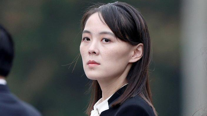"Kim Yo-jong, sister of the North Korean leader, has threatened action ""soon"""