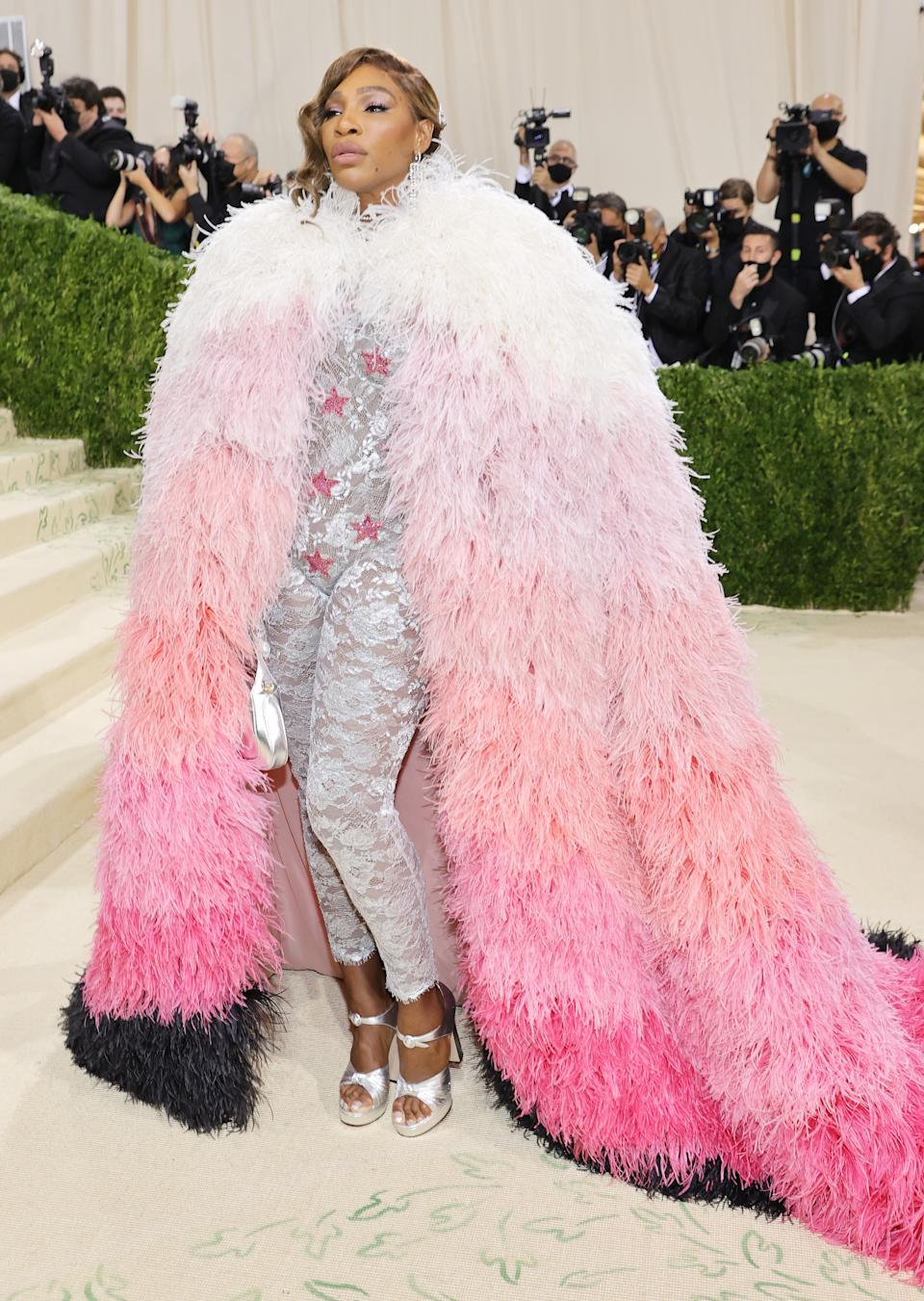 Serena Williams attends The 2021 Met Gala Celebrating In America: A Lexicon Of Fashion at Metropolitan Museum of Art on September 13, 2021 in New York City. (Getty Images)