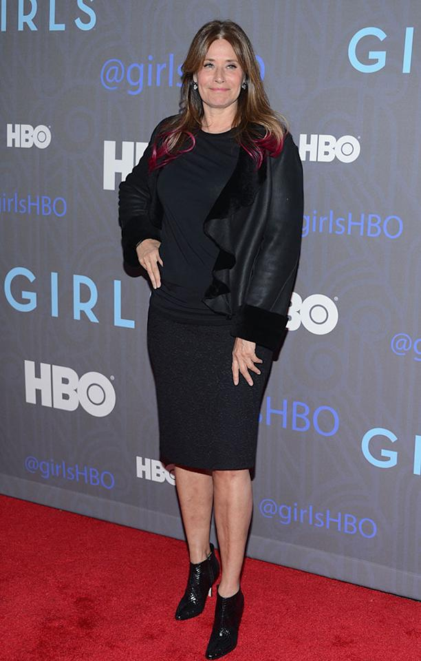 "Lorraine Bracco attends HBO's premiere of ""Girls"" Season 2 at the NYU Skirball Center on January 9, 2013 in New York City."