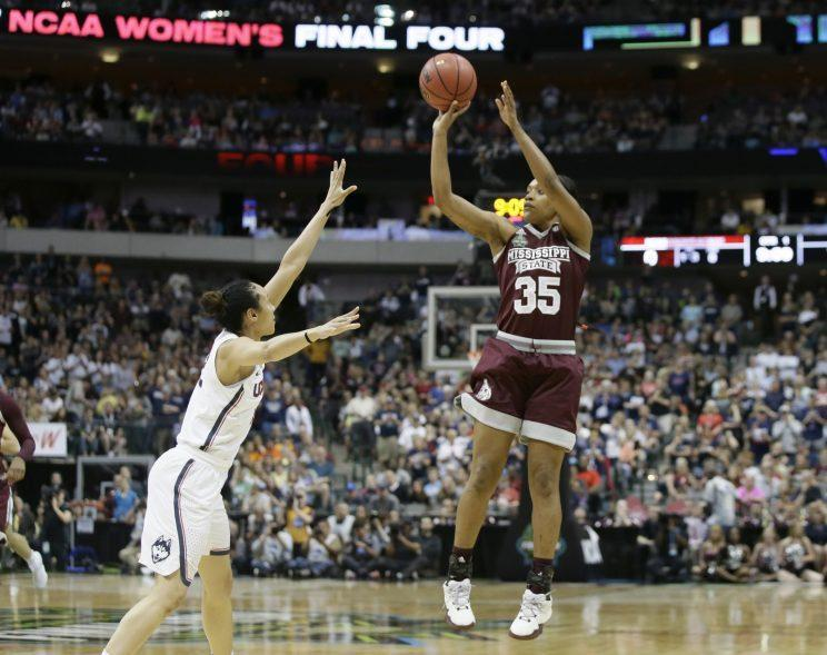 Mississippi State is taking it to UConn early. (AP)