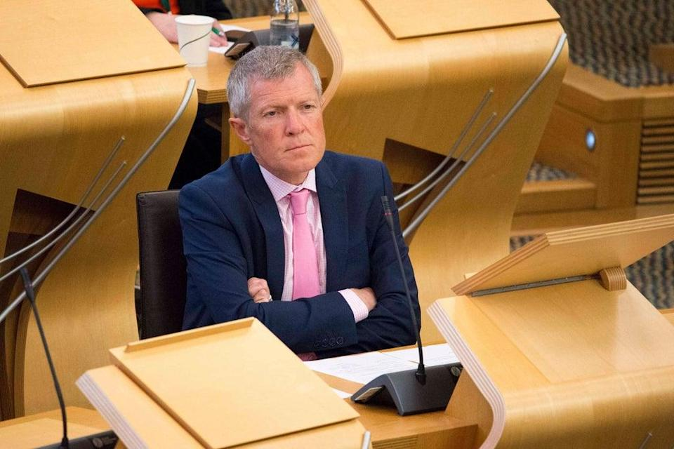 Former leader of the Scottish Liberal Democrats, Willie Rennie (Colin Fisher/Alamy) (PA Archive)