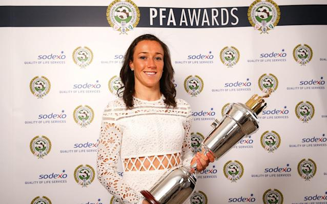 <span>Lucy Bronze won Women's Player of the year</span> <span>Credit: PA </span>