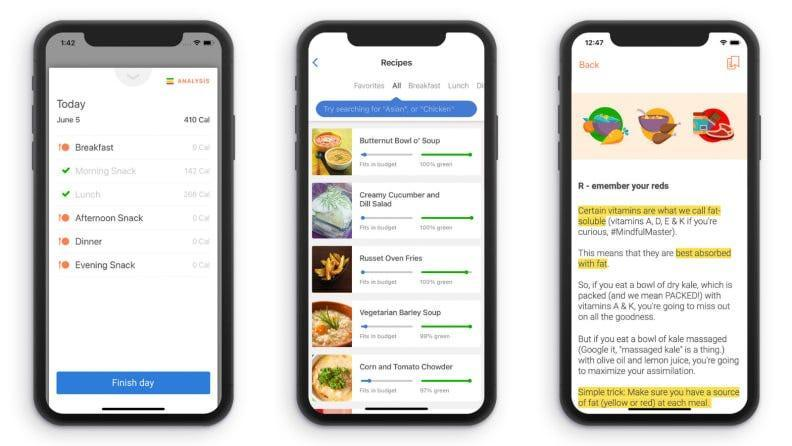 """In addition to the daily food logging, the Noom app provides motivation with about eight daily """"tasks"""" you're asked to complete."""
