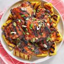 """<p>Originating in Hawaii, this recipe is really all about the sauce. Pineapple juice, soy sauce, brown sugar, and (stay with us) ketchup make for an insanely delicious base, and plenty of garlic and ginger bring some acidity and brightness.</p><p>Get the <a href=""""https://www.delish.com/uk/cooking/recipes/a30380053/huli-huli-chicken-recipe/"""" rel=""""nofollow noopener"""" target=""""_blank"""" data-ylk=""""slk:Huli-Huli Chicken"""" class=""""link rapid-noclick-resp"""">Huli-Huli Chicken</a> recipe.</p>"""