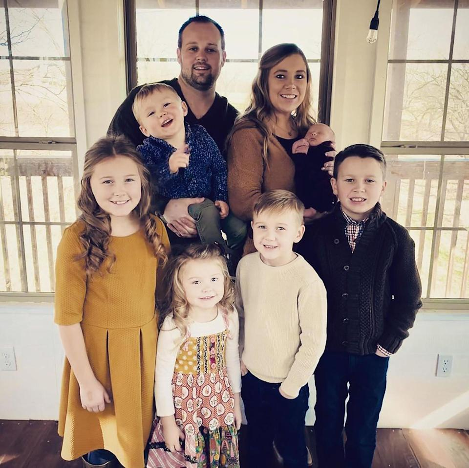 """<p>In October of 2020, Anna celebrated the couple's 12th wedding anniversary <a href=""""https://people.com/tv/josh-anna-duggar-celebrate-12-years-of-marriage/"""" rel=""""nofollow noopener"""" target=""""_blank"""" data-ylk=""""slk:on Instagram"""" class=""""link rapid-noclick-resp"""">on Instagram</a>.</p> <p>""""12 years ago today we said, 'I do!' I'm so thankful for God's grace and kindness that has continually surrounded our family!"""" Anna wrote in the caption, sharing a family photo. """"Joshua, I'm looking forward to growing old with you! ♥️""""</p>"""